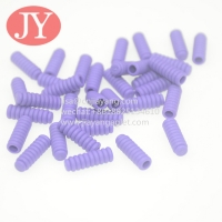 Quality Hot Sale Abs/Tpu Plastic Tipping Round Polyester Drawstring Rope End Aglet tips Eco Friendly No Fade Color for sale