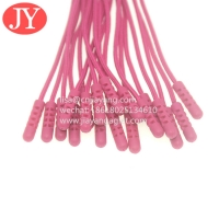 Quality High Quality Customized Clothing Accessories Pvc Silicone Rope Zipper Pullers for sale