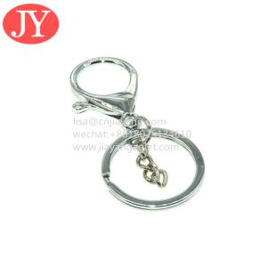 Quality handware factory manufacture snap hook belt lanyard carabiner keychain metal Lobster clasp for sale