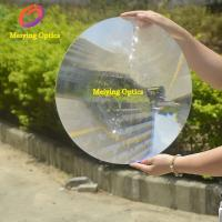 Quality Acrylic material round shape dia 600mm spot fresnel lens for solar concentrator for sale