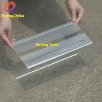 Quality Linear fresnel lens PMMA material 250X150mm with focal length 120mm for sale