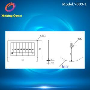 Quality HDPE material Infrared lens ,Pir fresnel lens ,plastic lens model 7803-1 for sale