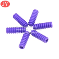 Quality TPU whorl plastic aglet for hoodies string 5.3*3.1*16.5 pants rope no fade color shoelace plasitc tip for sale