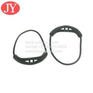 Quality Custom plastic rubber pvc zipper puller slider silicone zipper head string U shape soft rubber zipper pull for sale