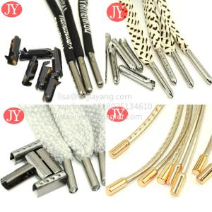Quality factory wholesale abs aglet/metal aglet clothing accessories eco-friendly rope cord shoe laces for sale