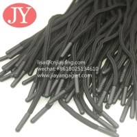 Quality custom round polyester drawstring shoe lace aglets injection soft TPU plastic tip aglet for sale