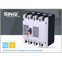 Quality SINGI SWM1 4P 225A 400V 50/60 HZ mould case safety circuit breaker for sale