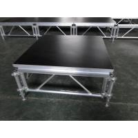 Buy Catwalk Portable Stage Platforms / Aluminum Folding Stage With 18mm Plywood at wholesale prices