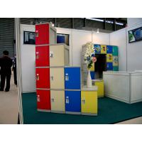 Quality Smart Red Fitness Center Lockers With On - Site Assembly Eco-friendly CE certified 1910 × 380 × 500 for sale