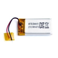 Quality UN38.3 200mAh 3.7 V Lithium Polymer Battery Pack PL461730 for sale