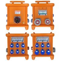 Quality MK2 Multi Ways Powerhouse Portable Distribution Boxes With Disconnect And Overcurrent Protection Provided By MCB RCBO for sale