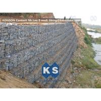 Quality Defense Gabion Retaining Wall Hexagonal Wire Mesh with Galvanized Wire 2.7MM for sale