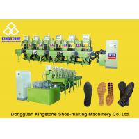 Semi Automatic One Color Rubber Sole Making Machine For High Grade Leather Shoes