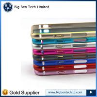 """Buy Luxury Thin Aluminum Alloy Metal Bumper Frame Case Cover for Apple iPhone 6 4.7"""" at wholesale prices"""