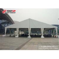 Buy Contemporary Outside Wedding Tents , Flameproof Clear Wedding Tent OEM Available at wholesale prices