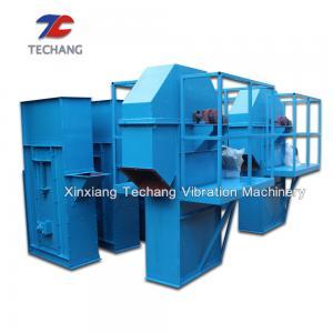 China Carbon Steel Plate Chain Bucket Elevator Conveyor For Limestone / Coal / Gypsum on sale
