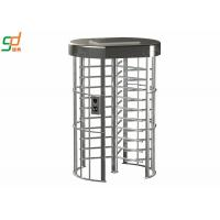 Quality Electronic Security Single Full Height Turnstiles For Indoor Library for sale