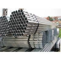 Quality Φ22 Greenhouse Steel Pipe , Hot Dip / Cold GI Galvanized Pipe Greenhouse Frame for sale