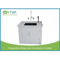 Quality Small Laboratory Working Table PP Water Lab Bench with Cabinet Chemical Resistance for sale
