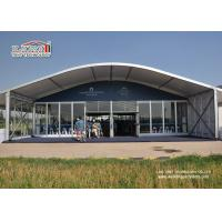 China Dome Shape Outdoor Party Tent Tempered Glass Walls And Glass Door on sale