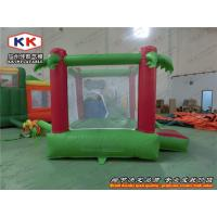 Quality Silk Print Inflatable Bouncer , Kids Moonwalk Inflatable Play Zone for sale