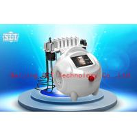 Quality Red Diode Lipo Laser Slimming Machine / Ultrasonic Cavitation RF Fat Removal Beauty Machine for sale