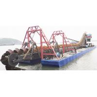 Quality Customized Bucket Chain Dredger 250 Cubic Meter Per Hour 1-25m Dredging Depth for sale