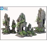 Buy cheap Artificial Hill Decorative Aquarium Resin Ornaments For Indoor Fish Tank from wholesalers