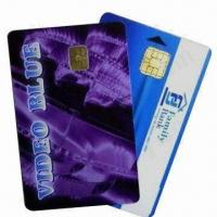 Quality PVC Contact Smart Chip Cards (Chip 4442), Measures 86x54x0.84mm for sale