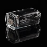 Buy Square Diffuser Glass Bottles Square Clear Glass Reed Diffuser Bottle at wholesale prices
