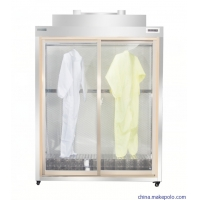 Quality 200W 300LX Cleanroom Clothes Storage Cabinet Stainless Steel for sale