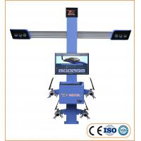 Quality Four Wheel Drive 0.64cm Track Tyre Alignment Machine for sale
