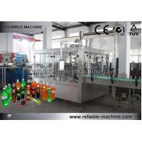 China Carbonated Drink Production Line PET Bottle Filling Easy Operation SS304 on sale