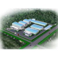 Economical Steel Structure Warehouse , Steel Frame Building Construction