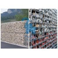 Quality Pre - Galvanized Steel Gabion Baskets Mattress Gabion For Flood Controlling for sale