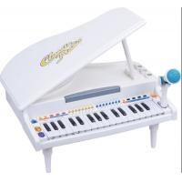 Quality Functional Plastic Toddler Toy Piano 32 Keys Grand Type With Microphone for sale