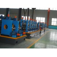Quality Fast Speed ERW Carbon Steel Tube Mill For Pipe Making Machine , CE / ISO for sale