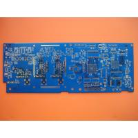 Quality Blue FR4 Aluminium Base PCB Flash Gold 4 Layer Circuit Board Manufacturer for sale