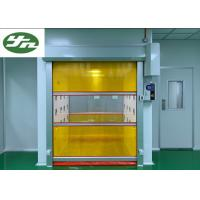 Quality Speed Shutter Rolling Door Air Shower Tunnel Powder Coating Painting For Cargo for sale