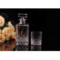 Buy Hand Made Colored Glass Wine Bottles With Corks , Luxury Wine Bottle at wholesale prices
