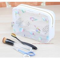Buy cheap Waterproof PVC Toilet Kit Organizer Pouch Clear PVC Wash Bag Toiletry Wash Bag from wholesalers