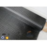 Quality 3K 200g 0.3mm Carbon Fiber Fabric For Reinforcement , Heat Resistant Insulation Materials for sale