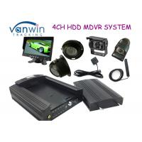 Quality 3G HD HDD Rugged Mobile DVR hidden security cameras system for Taxi management for sale