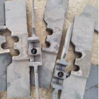 Quality Anti Rust Scraper Conveyor Die Forging Chain Scraper Iron Base Alloy Material for sale
