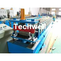 Quality HRC58-62 Hardness Standing Seaming Roofing Panel Machine For Making Roof Wall Cladding , Roofing Sheet for sale