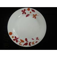 China china white ceramic dinner plates color decal  dinnerware sets from GUANGXI  beiliu manufacturer &factory/export suppler on sale