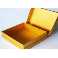 Quality Yellow Antique Lamination Printed Gift Boxes With lids For Clothes for sale