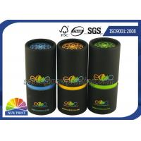 Quality Eco - Friendly Paper Packaging Tube / Cardboard Round Paper Cans for sale