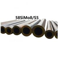 Quality Forged Round Tool Steel Bar Grade 58simo8 / S5 Material Max Length 11800mm for sale