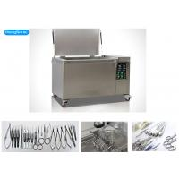Quality High Effiency Ultrasonic Surgical Instrument Cleaner With Heater 88 Liter 1200W for sale